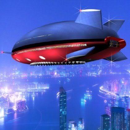 Amazing Aeroscraft ML866